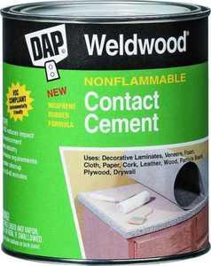 Dap 25336 Non- Flammable Contact Cement Tan