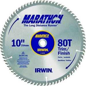 Irwin 14076 10 in 80tht Circular Saw Blade