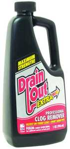 Iron Out Inc DE32N/DC06N Qt Drain Out Extra
