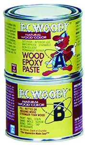 Protective Coating Co PC-WOODY 6 oz 6 oz Wood Epoxy Paste