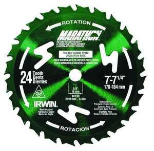 Irwin 14130 7-1/4 Univ Circular Blade