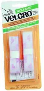 Velcro Usa Inc 90079 18x3/4 White Velcro Tape Fastener