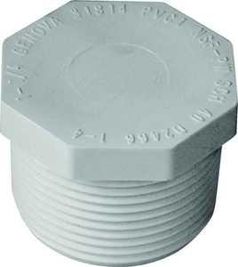 Genova 31814 1-1/4 in Pvc Mip Plug