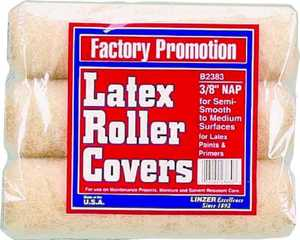 Linzer Products B2383 Roller Cover 3-Pk
