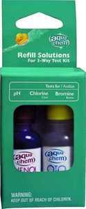 Biolab 08102AQU 3 Way 1/2 In Pool Test Kit Refill