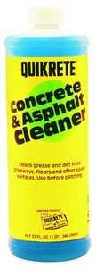 Quikrete 860114 Concr/Asphalt Cleaner