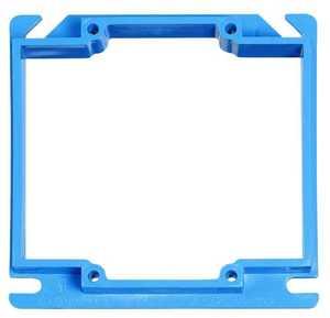 Carlon Sales A420RR 2-Gang Blue Outlet Box Cover