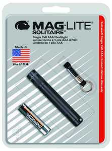 Mag Instrument K3A016 Black Solitaire Flashlight