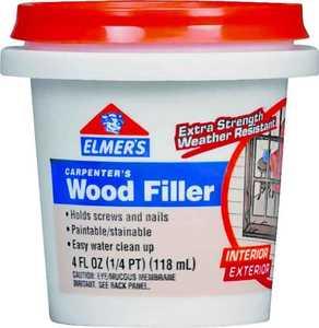 Elmer's Products E847D12 1/4 Pt Interior & Exterior Wood Filler