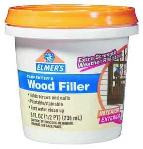 Elmer's Products E848D12 1/2 Pt Carpenters Interior & Exterior Wood Filler