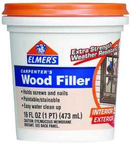 Elmer's Products E849D8 Pint Carpenters Interior & Exterior Wood Filler