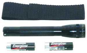 Mag Instrument M2A01H Mini-Mag Black Flashlight Combo