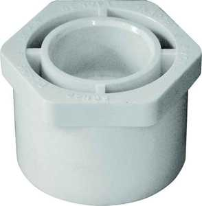 Genova 30257 1-1/2 x 3/4 Pvc Reducing Bushing