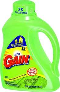 Procter & Gamble 12784 Ultra Gain Liquid Laundry Soap 32 Loads