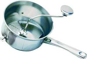 Norpro, Inc. 593 Food Mill Stainless Steel 2.2 Quart
