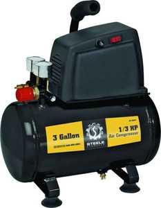 Steele CE-043 3-Gallon 1/3-Hp Portable Air Compressor
