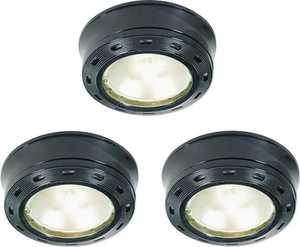 Good Earth Lighting G9163-BKX-I G9163-BKX-I 3LT XENON PUCK KIT