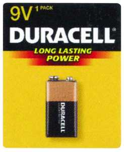 Duracell MN1604B1Z 9v Copper Top Battery