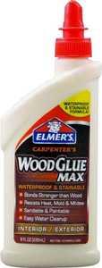 Elmer's Products E7300 8 oz Carpenters Wood Glue Max