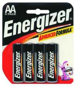 Energizer Battery E91BP-4 Energizer Aa Battery 4pk