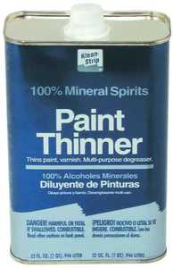 WM Barr QKPT94003 Paint Thinner Metal Can