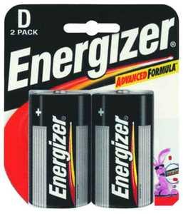 Energizer Battery E95BP-2 Energizer D Battery 2pk