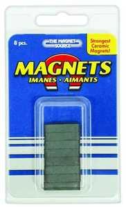 Master Magnetics 07001 3/16x1/4x7/8 in Ceramic Magnet
