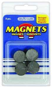 Master Magnetics 07003 3/4x3/16 in Ceramic Disc Magnet