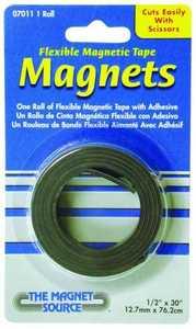 Master Magnetics 07011 1/2x30 in Magnetic Flex Tape