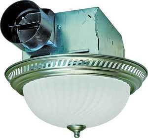 Air King America DRLC702 70 Cfm Fan/Light Combo Nickel