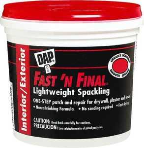 Dap 12143 Fast 'n Final Spackling Compound Gallon