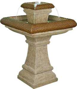 Worldwide Sourcing Y95174 Galerie Garden Fountain