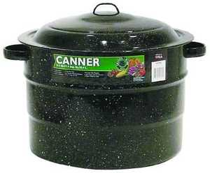 Columbian Home Products F0707-3 21 Qt Graniteware Canner