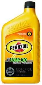Pennzoil Products 550022792/3619 10w30 Pennzoil Motor Oil Quart