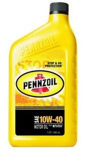 Pennzoil Products 550022809/3653 10w40 Pennzoil Motor Oil Quart