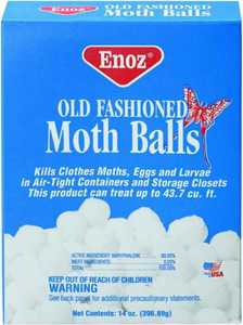 Willert Home Products E20-12 14 oz Old Fashioned Moth Ball