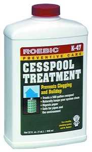 Roebic Laboratories K-47 Qt Cesspool Bacteria Treatment