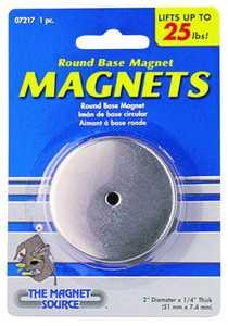 Master Magnetics 07217 25lb Lift Round Base Magnet