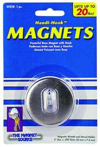 Master Magnetics 07218 2 in Diameter Handy Hook