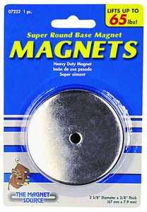 Master Magnetics 07222 65lb Lift Roundd Base Magnet