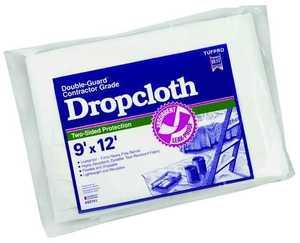 Trimaco 02301 9x12 ft Paper/Plastic Dropcloth