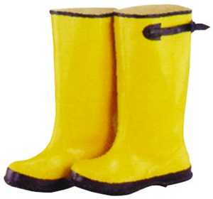 Diamondback 22335 Size 10 Yellow Overshoe Boot