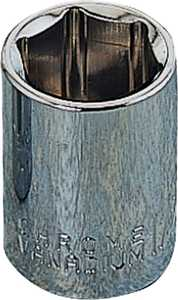 Vulcan MT6490106 9mm 1/4-Inch Drive 6-Point Standard Socket