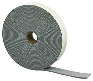 M-D Building Products 381863 1-1/4-Inch X 30-Foot Gray Camper Seal Tape Weatherstrip