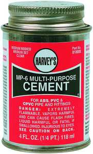 Harvey's 385161 Multi-Purpose Cement 4 oz