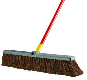 Quickie 00536 Bulldozer 24 in Rough Surface Push Broom