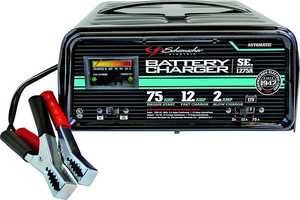 Schumacher 0436741 Automatic Starter/Charger - 12 Amp