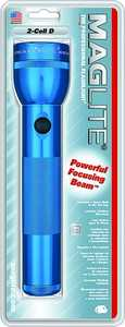 Mag Instrument 0438242 Mag Flashlight 2d-Cell Blue