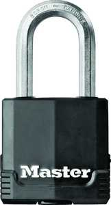 Master Lock 0483834 1 3/4 in Padlock 1-1/2 Shackle