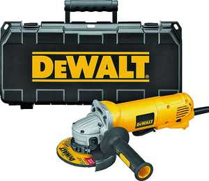 DeWalt 0544981 4.5 in Angle Grinder 10amp W/Case